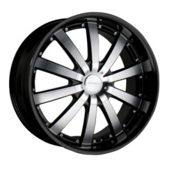 Ace EXECUTIVE Black Machine Face Wheel