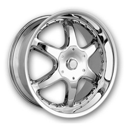 DIP EXODUS Chrome 22X10 6-139.7 Wheel