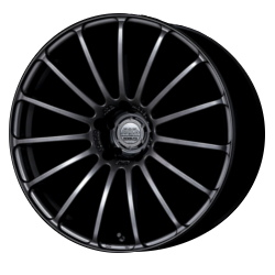 Advan F15 Matte Black 20X9 5-114.3 Wheel