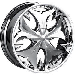 Mazzi FATAL Chrome 17X7 5-115 Wheel