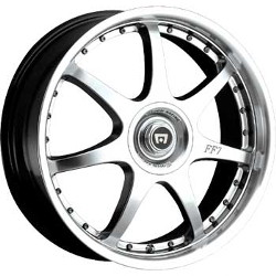 Motegi Racing FF7 Silver 16X7 4-100 Wheel