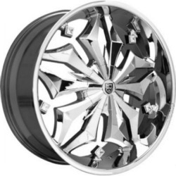 Lexani FIRESTAR Chrome 20X9 5-112 Wheel
