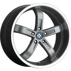 Beyern FIVE Silver 20X9 5-120 Wheel