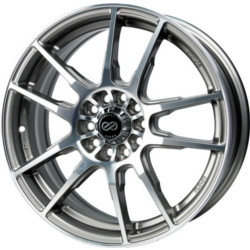 Enkei FLC-01 Silver Machined 17X7 4-114.3 Wheel