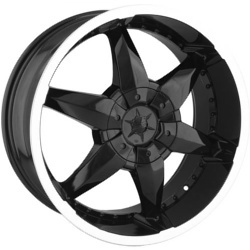 DIP FLYER Black 20X9 5-139.7 Wheel