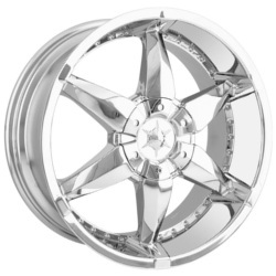 DIP FLYER Chrome 20X9 5-139.7 Wheel