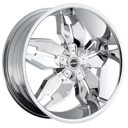 Strada FORCHETTA Chrome 22X8 5-115 Wheel