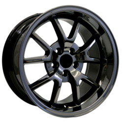 Wheel Replicas FR500 Anthracite/Machined Lip 17X11 5-114.3 Wheel