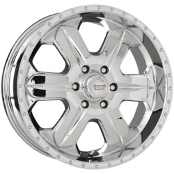 American Racing FUEL Chrome 18X9 6-135 Wheel