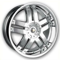 Baccarat FUSION Chrome 24X9 5-115 Wheel