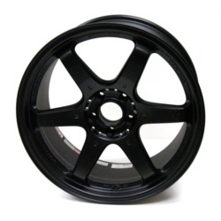 Volk Racing G2 Flat Black 18X9 5-112 Wheel