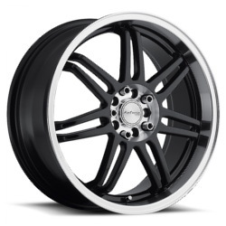 Katana Racing GF7 Black 17X7 5-114.3 Wheel