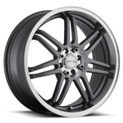 Katana Racing GF7 Gunmetal 18X8 4-108 Wheel