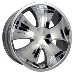 Strada GIOIELLO Chrome 22X10 5-114.3 Wheel
