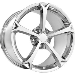 Wheel Replicas GRAND SPORT Chrome 17X9 5-120.7 Wheel