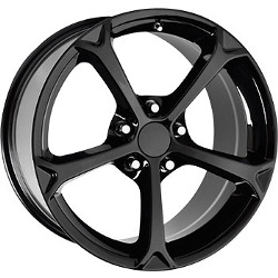 Wheel Replicas GRAND SPORT Gloss Black 18X10 5-120.7 Wheel