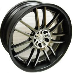 Volk Racing GT-30 PHANTOM F.Black/Bk Lip 19X10 5-114.3 Wheel