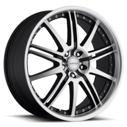 Katana Racing GT10 Matte Black Machined Face 18X8 5-114.3 Wheel