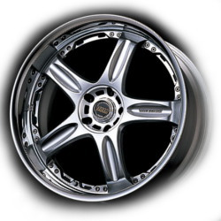 Volk Racing GTC-2 Mercury Silver 19X10 5-114.3 Wheel