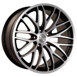 Katana Racing GTM Hypersilver Machined Lip 19X10 5-112 Wheel