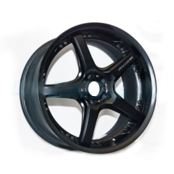 Volk Racing GTS Diamond Black 18X10 5-114.3 Wheel