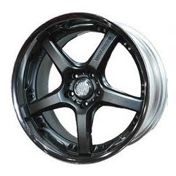 Volk Racing GTS Mercury Silver Wheel