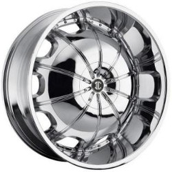 Heavy Hitters H1 Chrome 22X10 6-139.7 Wheel