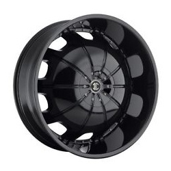 Heavy Hitters H1 Glossy Black 22X10 5-127 Wheel