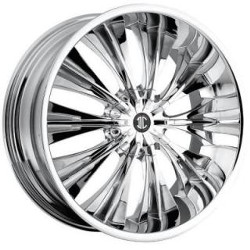 Heavy Hitters H3 Chrome 24X10 6-135 Wheel