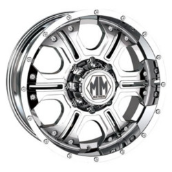 Mayhem HAVOC Chrome 20X9 6-114.3 Wheel