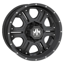 Mayhem HAVOC Matte Black 17X8 5-127 Wheel