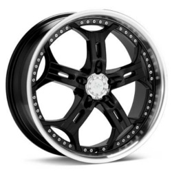 Helo HE834 Gloss Black Machined 22X9 5-114.3 Wheel