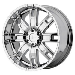 Helo HE835 Chrome 22X10 8-165.1 Wheel