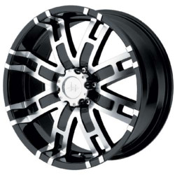 Helo HE835 Gloss Black Machined 18X9 5-139.7 Wheel