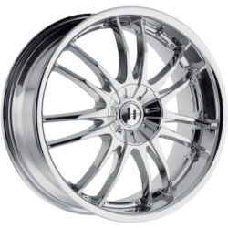 Helo HE845 Chrome 17X8 5-120 Wheel