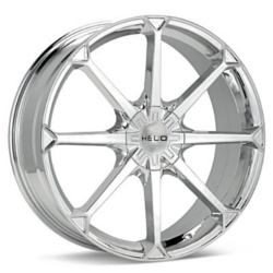 Helo HE870 Chrome 20X8 5-100 Wheel