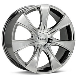 Helo HE874 Bright Pvd 16X8 4-100 Wheel