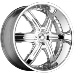 DIP HEAT Chrome Wheel