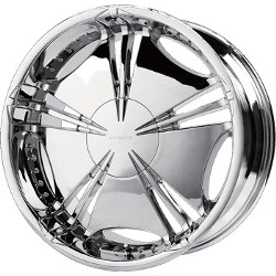 Verde HELIX Chrome 18X8 5-100 Wheel