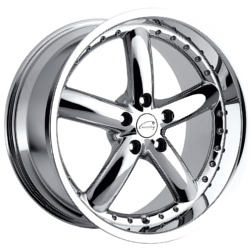 Coventry HORNET Chrome 17X8 5-120.7 Wheel