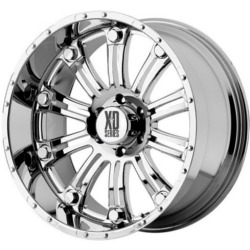 KMC-XD Series HOSS Chrome 20X9 6-135 Wheel
