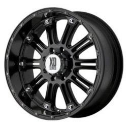 KMC-XD Series HOSS Gloss Black 22X10 8-165.1 Wheel