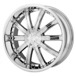 DIP ICE Chrome 20X9 5-112 Wheel