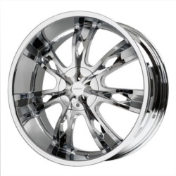 Verde ICON Chrome 20X9 6-135 Wheel