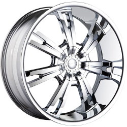 Mazzi INFERNO Chrome 24X10 5-135 Wheel