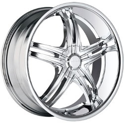 Mazzi INVASION Chrome 18X8 5-110 Wheel
