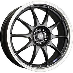Enkei J10 Black 17X7 5-100 Wheel