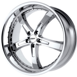TSW JARAMA Chrome 18X8 5-114.3 Wheel