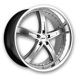 TSW JARAMA Hypsil Mirror Lip 22X11 5-112 Wheel