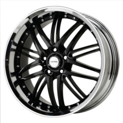 Verde KAOS Black/Chr Lip 20X9 5-120.7 Wheel